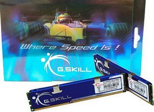 G.Skill Value DIMM kit 4GB, DDR3-1333, CL8-8-8-21 (F3-10600CL8D-4GBHK)