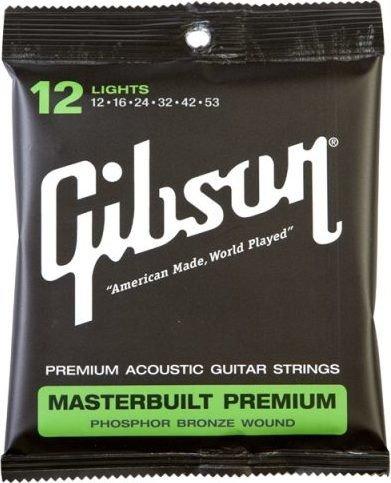 Gibson Masterbuilt Premium Phosphor Bronze Light (SAG-MB12)