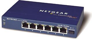 Netgear EN106TP hub, 6x RJ-45 10Mbit