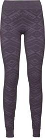 Odlo natural + Kinship warm pant long vintage violet melange (ladies) (110721-30490)