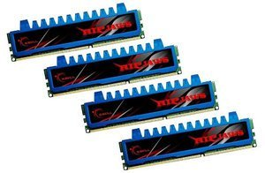 G.Skill RipJaws DIMM kit 8GB, DDR3-1600, CL7-8-7-24 (F3-12800CL7Q-8GBRM)