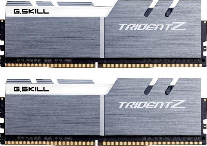 G.Skill Trident Z silber/weiß DIMM Kit 16GB, DDR4-4266, CL19-19-19-39 (F4-4266C19D-16GTZSW)