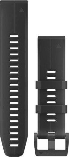 Garmin replacement bracelet QuickFit 22 silicone black (010-12740-00)