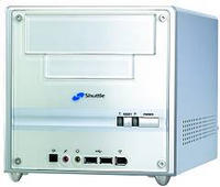 Shuttle XPC SS40G Mini-Barebone Alu (Sockel A/133/PC2100 DDR)