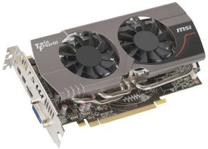 MSI R7850 Twin Frozr 2GD5/OC, Radeon HD 7850, 2GB GDDR5, DVI, HDMI, 2x mini DisplayPort (V273-003R)