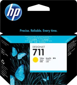 HP ink 711 yellow (CZ132A)