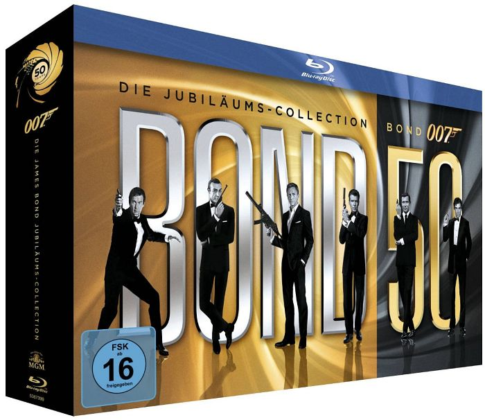 James Bond - Bond 50 Collection (Blu-ray)