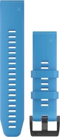 Garmin replacement bracelet QuickFit 22 silicone cyan blue (010-12740-03)