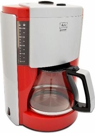 Melitta Look DeLuxe red/silver (M652-050304)