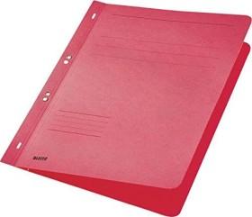 Leitz Ösenhefter A4, voller Vorderdeckel, rot, 50er-Pack (37420025#50)