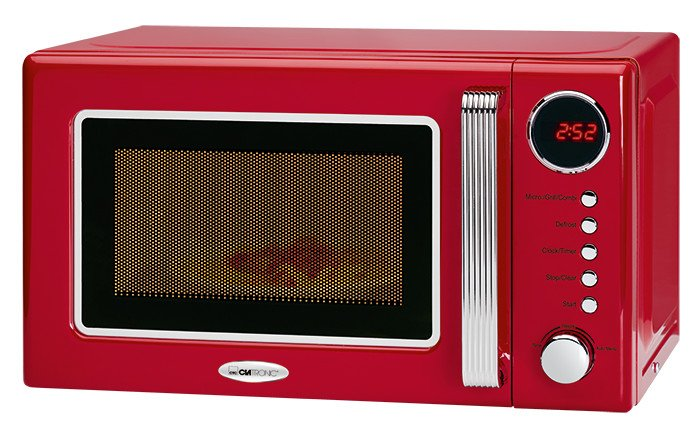 Clatronic MWG 790 rot Mikrowelle mit Grill