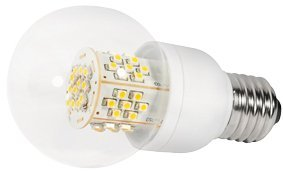 Transmedia LED Tropfen 3.5W/E27 WW klar (LE7-2W)