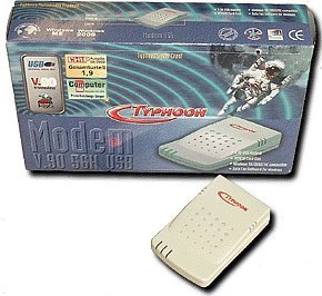 Anubis Typhoon Silver Crest USB 56K modem (50883)