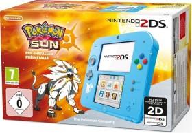 Nintendo 2DS Pokémon Sonne Bundle blau