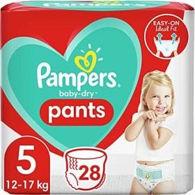 Pampers Baby-Dry pants Gr.5 Einwegwindel, 12-17kg, 28 Stück