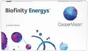 Cooper Vision Biofinity Energys, +1.25 Dioptrien, 3er-Pack