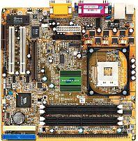 Shuttle MV42N, P4M266, VGA, LAN, µATX (SDR/DDR)