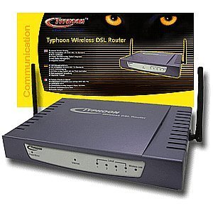 Anubis Typhoon DSL Wireless Router 4 Port Switch (51405)