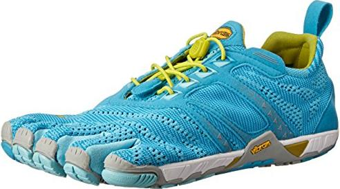 newest 28de5 806cf Vibram FiveFingers Komodo Evo light blue grey yellow (ladies) (15W4004)