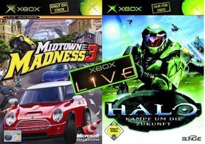 Microsoft Xbox Holiday Pack (z Halo & Midtown Madness 3) (R60-00020)