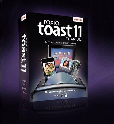 Adaptec/Roxio: Toast 11.0 Titanium, ESD (deutsch) (MAC)