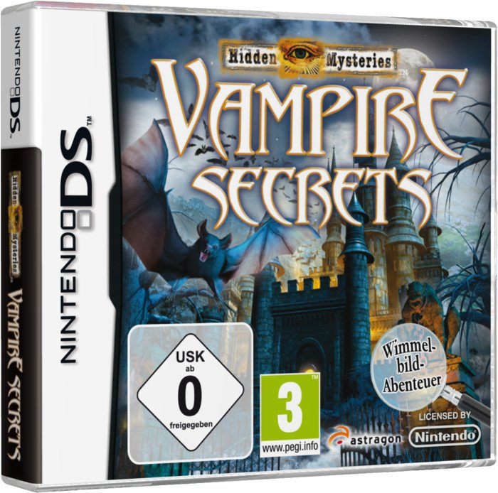 Hidden Mysteries - Vampire Secrets (English) (DS)