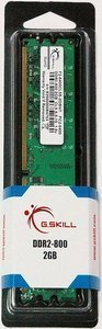 G.Skill NT Series DIMM 2GB, DDR2-800, CL5-5-5-15 (F2-6400CL5S-2GBNT)