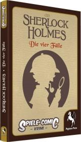 Spiele-Comic Krimi: Sherlock Holmes - Die vier Fälle