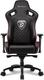Sharkoon Skiller SGS4 Gamingstuhl, schwarz/rot