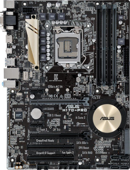 ASUS H170-Pro (90MB0NC0-M0EAY0)