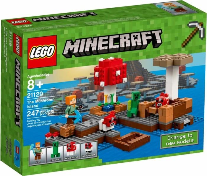 LEGO Minecraft Die Pilzinsel Ab De Heise - Minecraft spiele max