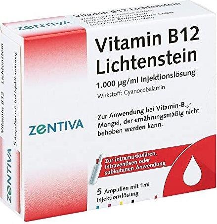 Vitamin B12 Lichtenstein Ampullen 5ml Ab 278 2019