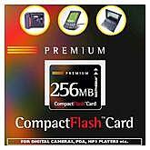 BestMedia Platinum CompactFlash Card (CF) Premium 256MB (001 00151)