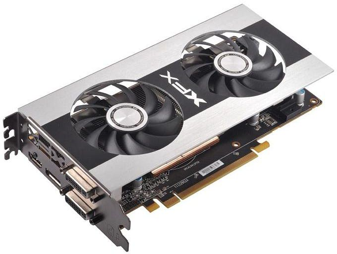 XFX Radeon HD 7770 GHz Edition, Double Dissipation Edition, 1GB GDDR5, DVI, HDMI, mini DisplayPort (FX-777A-ZDF4)