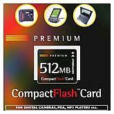 BestMedia Platinum CompactFlash Card (CF) Premium 512MB (001 00152)