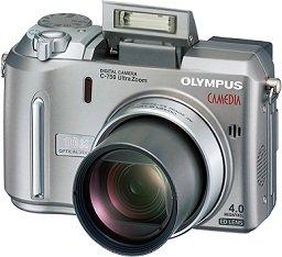 Olympus Camedia C-750 Ultra zoom (różne zestawy)
