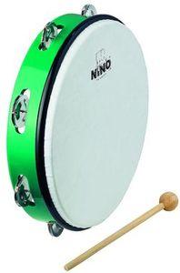 Nino NINO24GR grün ABS Tambourines
