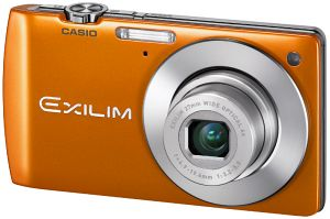 Casio Exilim EX-S200 orange