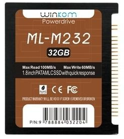 "Winkom Powerdrive ML-M2 32GB, 1.8"", IDE 44-pin (ML-M2032)"