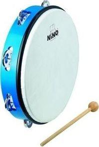 Nino NINO24B blau ABS Tambourines
