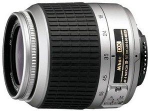 Nikon AF-S DX 55-200mm 4.0-5.6G ED silber (JAA793DA)