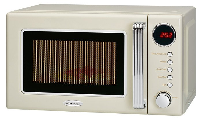 Clatronic MWG 790 beige Mikrowelle mit Grill