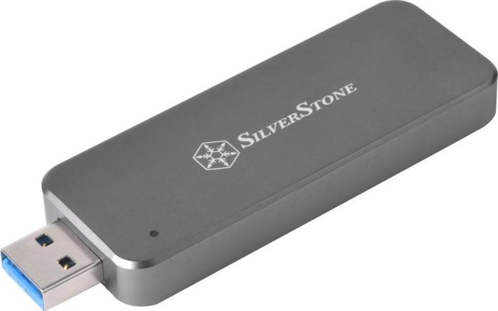 SilverStone MS09C-mini, M.2 SSD, USB-A 3.1, charcoal (SST-MS09C-MINI)