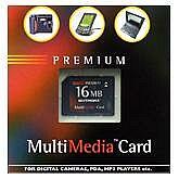 BestMedia Platinum MultiMedia Card (MMC) Premium 16MB (001 00158)