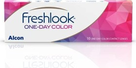 Alcon FreshLook One-Day Color Farblinse grey, -5.00 Dioptrien, 10er-Pack