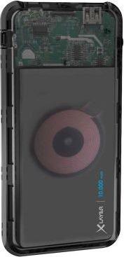 XLayer Powerbank Plus Wireless Discover 10000mAh schwarz (215782)