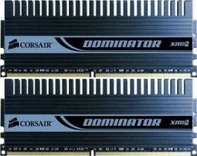 Corsair XMS2 Dominator DIMM Kit 2GB, DDR2-800, CL4-4-4-12 (TWIN2X2048-6400C4D)