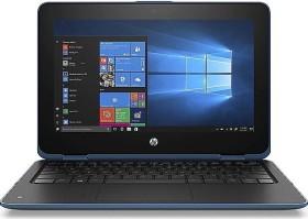 HP ProBook x360 11 G4 Touch schwarz/blau, Core m3-8100Y, 8GB RAM, 128GB SSD, EDU (7DE42ES#ABD)