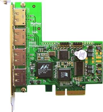 HighPoint RocketRAID 2314, PCIe x4 -- via Amazon Partnerprogramm