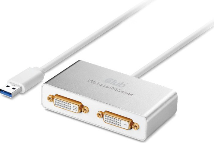 Club 3D active USB 3.0 type-A/DVI adapter (CSV-2604)